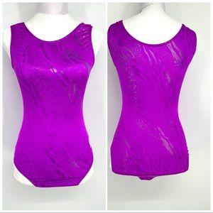 GK purple leotard size AM